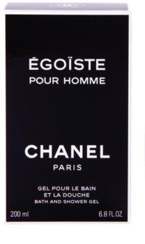 Chanel Égoïste gel doccia per uomo 200 ml
