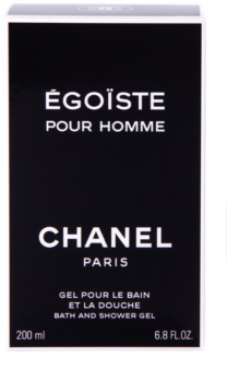 Chanel Égoïste gel douche pour homme 200 ml