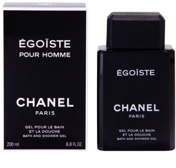 Chanel Égoïste gel de dus pentru bărbați 200 ml
