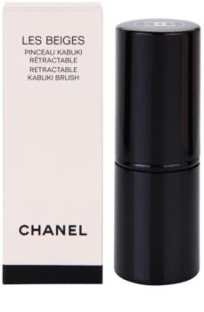 Chanel Les Beiges pędzel do pudru opakowanie podróżne