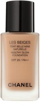 Chanel Les Beiges podkład rozświetlający dający naturalny efekt SPF 25