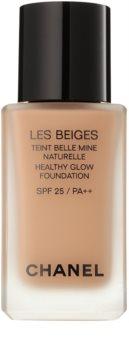 Chanel Les Beiges posvetlitveni tekoči puder za naraven videz SPF 25