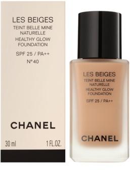 Chanel Les Beiges maquillaje con efecto iluminador para un aspecto natural SPF 25