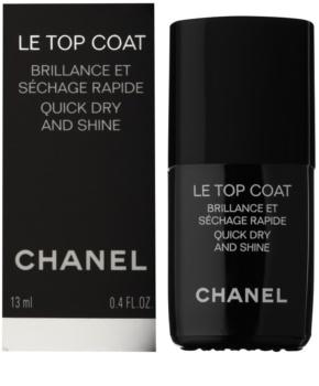 Chanel Le Top Coat vrchný ochranný lak na nechty s leskom