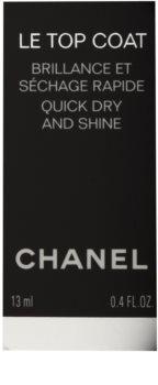 Chanel Le Top Coat vrchní ochranný lak na nehty s leskem