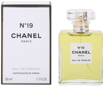 Chanel N19 Eau De Parfum For Women 50 Ml With Atomizer Notinocouk