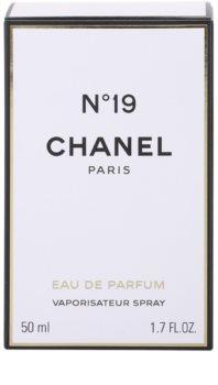 Chanel N°19 parfumska voda za ženske 50 ml z razpršilnikom