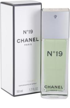 Chanel N°19 Eau de Toillete για γυναίκες 50 μλ
