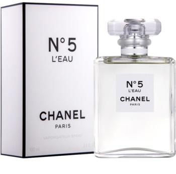 Chanel No. 5 L´Eau Eau de Toilette voor Vrouwen  100 ml