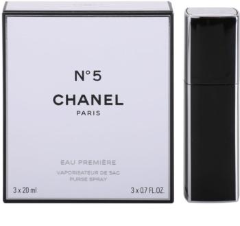 Chanel N°5 Eau Première parfumska voda (1x  polnilna + 2x polnilo) za ženske 3 x 20 ml