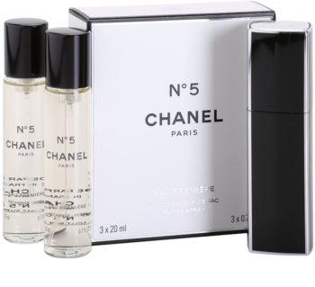 Chanel N°5 Eau Première eau de parfum para mujer 3 x 20 ml (1x recargable + 2x recarga)