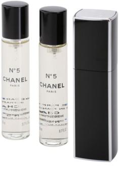 Chanel N°5 Eau Première Parfumovaná voda pre ženy 3 x 20 ml (1x plniteľná + 2x náplň)