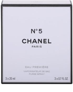 Chanel N°5 Eau Première eau de parfum pentru femei 3 x 20 ml (1x reincarcabil + 2x rezerva)