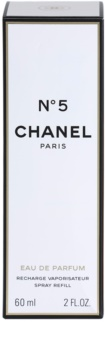 Chanel N° 5 Eau de Parfum für Damen 60 ml Nachfüllung mit Zerstäuber