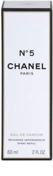 Chanel N°5 parfumska voda za ženske 60 ml polnilo z razpršilnikom