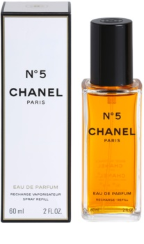 Chanel N°5 parfumska voda polnilo z razpršilnikom za ženske