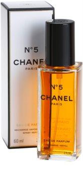 Chanel N°5 Eau de Parfum for Women 60 ml Refill With Atomizer