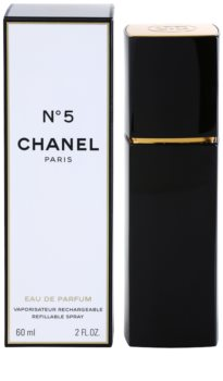 Chanel N°5 eau de parfum ricaricabile da donna 60 ml