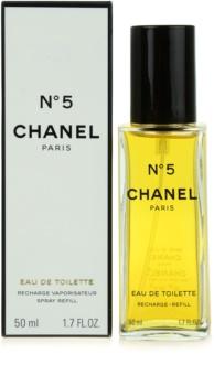Chanel N° 5 toaletní voda pro ženy 50 ml náplň