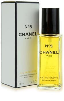 Chanel N°5 eau de toilette pentru femei 50 ml rezerva