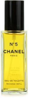Chanel N°5 Eau de Toilette voor Vrouwen  50 ml Navulling