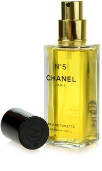 Chanel N°5 Eau de Toilette für Damen 50 ml Ersatzfüllung