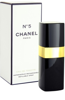 Chanel N°5 toaletní voda pro ženy 50 ml plnitelná