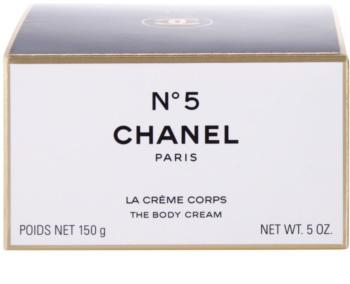 Chanel N°5 tělový krém pro ženy 150 ml