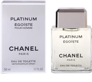 Chanel Égoïste Platinum Eau de Toilette für Herren 50 ml