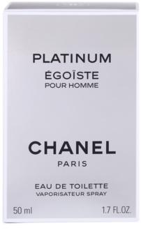 Chanel Égoïste Platinum туалетна вода для чоловіків 50 мл