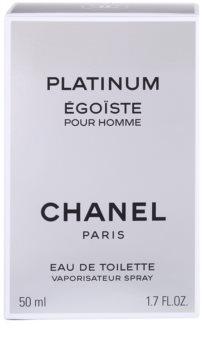 Chanel Égoïste Platinum Eau de Toilette voor Mannen 50 ml