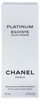 Chanel Égoïste Platinum emulsão após barbear para homens 75 ml