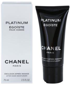 Chanel Égoïste Platinum emulzia po holení pre mužov 75 ml