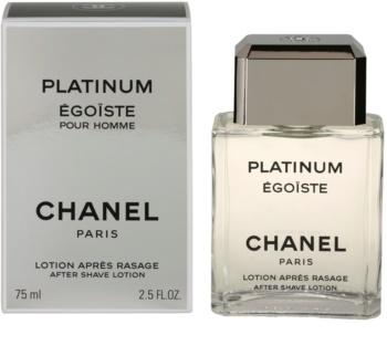 Chanel Égoïste Platinum after shave pentru barbati 75 ml