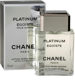 Chanel Égoïste Platinum voda po holení pro muže 75 ml