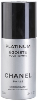 Chanel Égoïste Platinum Deo Spray voor Mannen 100 ml