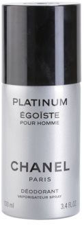 Chanel Égoïste Platinum deospray pentru barbati 100 ml