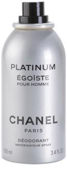 Chanel Égoïste Platinum deospray pre mužov 100 ml