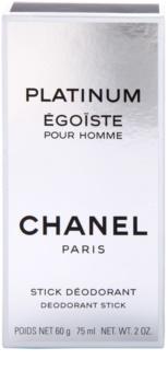 Chanel Égoïste Platinum dédorant stick pour homme 75 ml