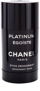 Chanel Égoïste Platinum deodorante stick per uomo 75 ml