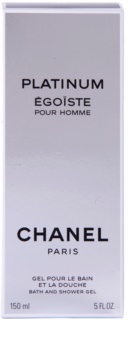 Chanel Égoïste Platinum Shower Gel for Men 150 ml