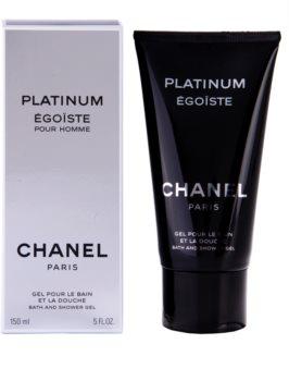 Chanel Égoïste Platinum gel za prhanje za moške 150 ml