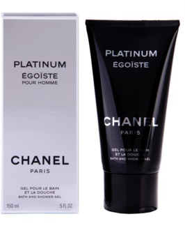 Chanel Égoïste Platinum gel za prhanje za moške