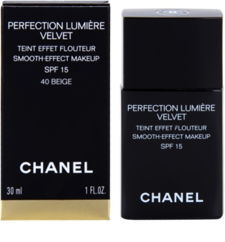 Chanel Perfection Lumière Velvet base veludosa para aspeto mate