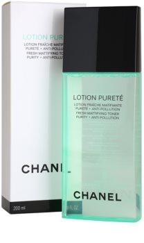 Chanel Cleansers and Toners tonikum čisticí pro mastnou a smíšenou pleť