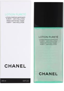 Chanel Cleansers and Toners tonikum čistiace pre mastnú a zmiešanú pleť