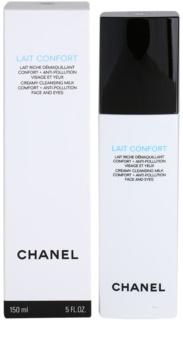 Chanel Cleansers and Toners leite de limpeza para pele seca