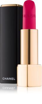 Chanel Rouge Allure Velvet оксамитова помада з матуючим ефектом