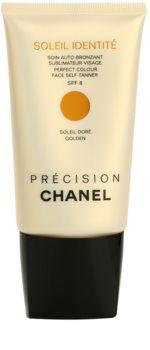 Chanel Précision Soleil Identité creme autobronzeador para rosto SPF 8