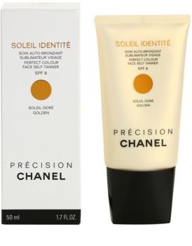 Chanel Précision Soleil Identité crema autobronzanta pentru fata SPF 8